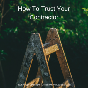 How to Trust Your Contractor